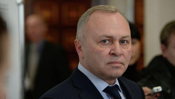 Исполняющий обязанности мэра Новосибирска Владимир Знатков