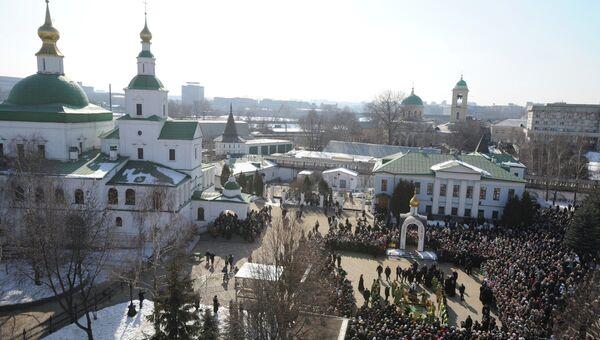 Свято-Данилов монастырь. Архивное фото