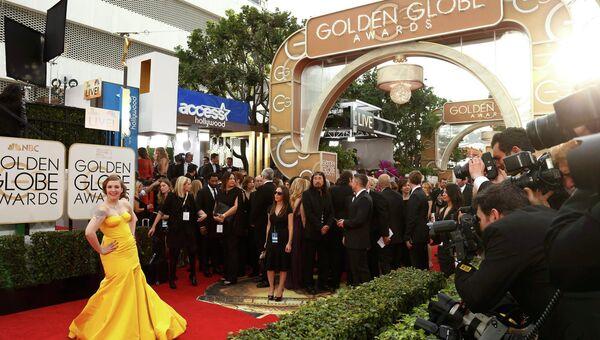 Красная дорожка Золотого глобуса. Фото с места событий