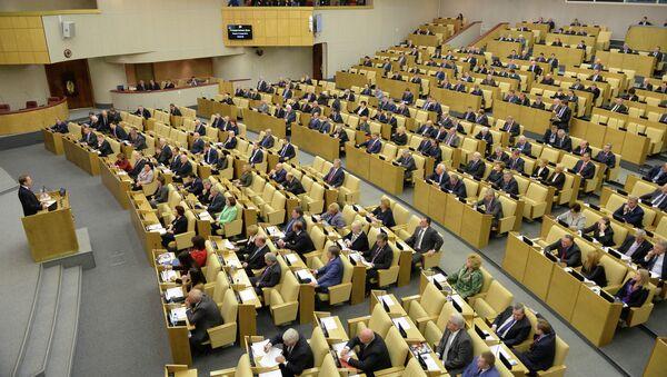 Заседание Госдумы РФ, архивное фото