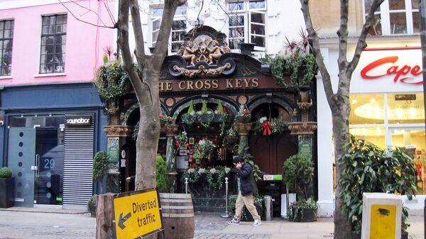 Лондонский паб Cross Keys