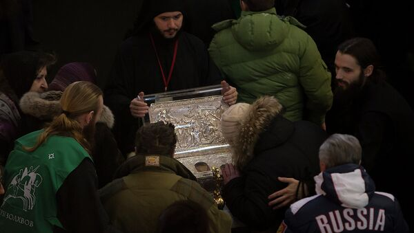 Поклонение Дарам волхвов в Петербурге. Фото с места события