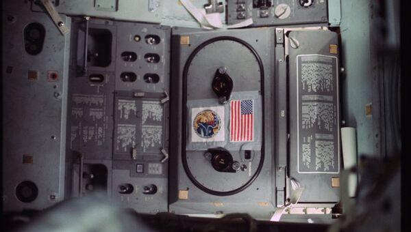 Интерьер пилотируемого космического корабля. Программа Аполлон 17