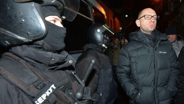 Лидер оппозиционной парламентской фракции Батькивщина Арсений Яценюк