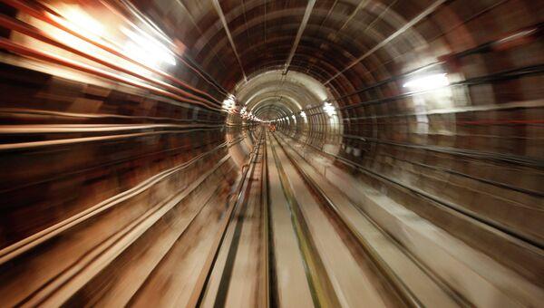 Тоннель метро, архивное фото