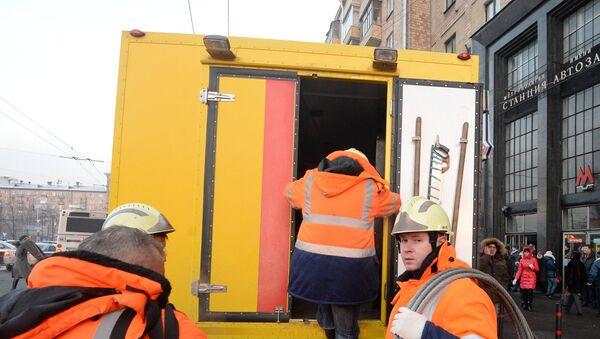 Инцидент на зеленой ветке московского метро. Архивное фото