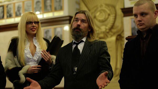 Сергей Паук Троицкий в Новосибирске, архивное фото