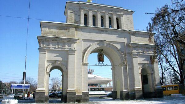 Ставрополь. Тифлисские ворота на проспекте Карла Маркса. Архивное фото