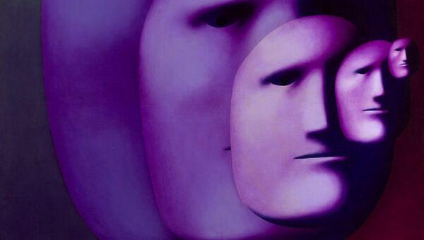 Олег Целков. Five masks. Выставка Личный выбор