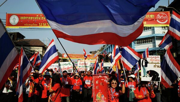 Антиправительственные протесты в Бангкоке