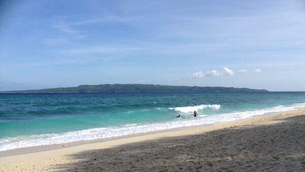Пляж на острове Боракай. Архивное фото