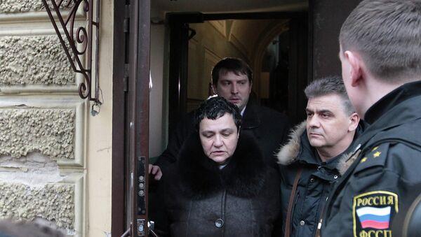 Судебное заседание по делу Елены Баснер, фото с места события. Архивное фото