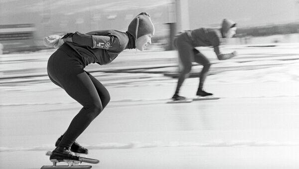 Олимпийская чемпионка Лидия Скобликова. Архивное фото