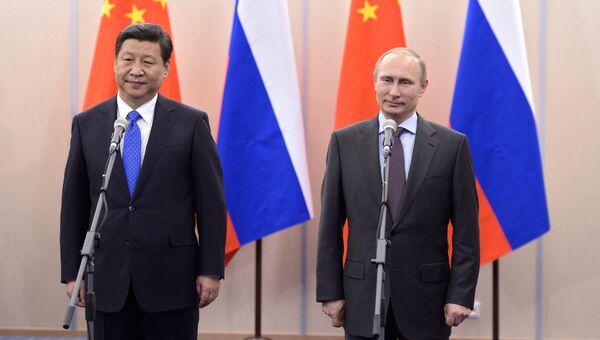 Владимир Путин встретился с председателем КНР Си Цзиньпином. Архивное фото