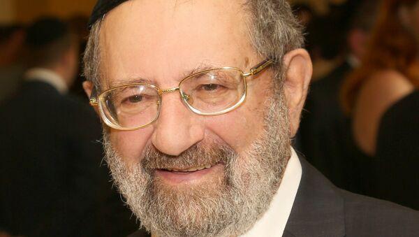 Главный раввин России, духовный лидер Конгресса еврейских религиозных организаций и объединений России Адольф Шаевич