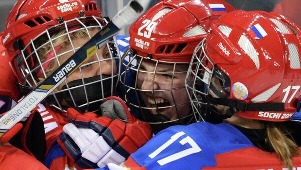 Женская сборная России по хоккею на Олимпийских играх в Сочи