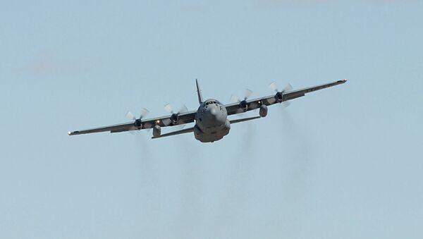 Самолет С-130. Архивное фото