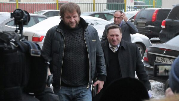 Рассмотренние уголовного дела в отношении спортсмена Александра Емельяненко