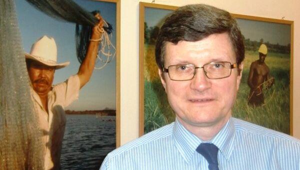 Заместитель генерального директора Продовольственной и сельскохозяйственной организации ООН (ФАО) Владимир Рахманин