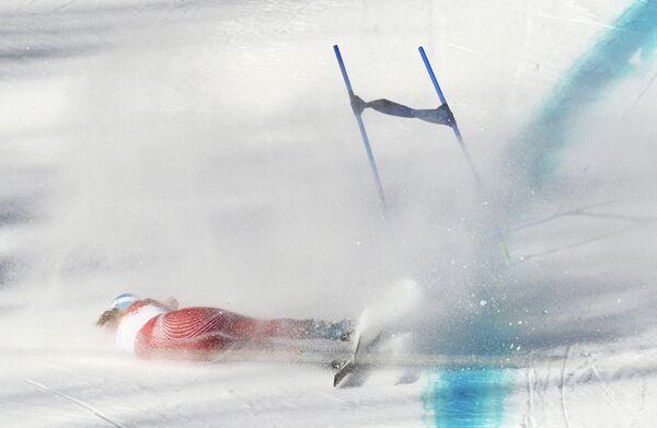 Олимпиада 2014. Горнолыжный спорт. Тренировки