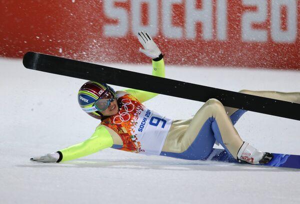 Олимпиада 2014. Прыжки с трамплина. Мужчины. Средний трамплин. Квалификация