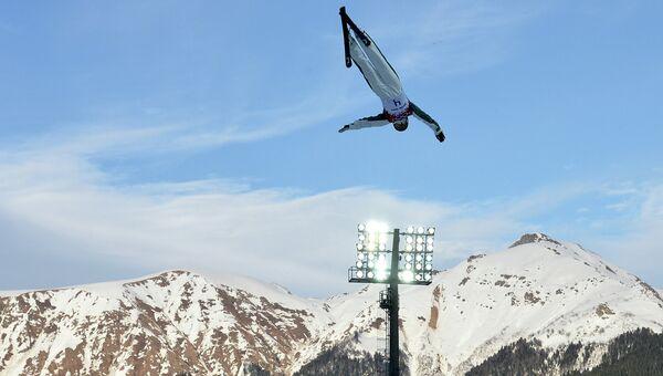Лыжная акробатика. Архивное фото