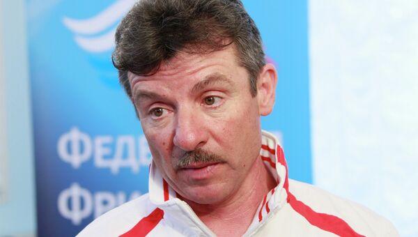 Старший тренер сборной России по лыжной акробатике Дмитрий Кавунов