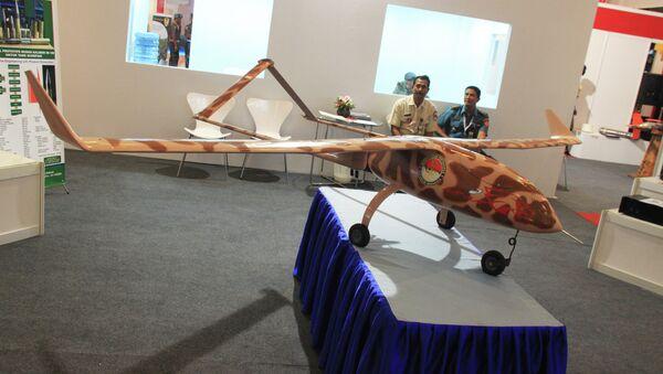 Прототип индонезийского дрона. Архивное фото