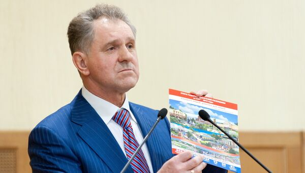 Бывший президент Удмуртии Александр Волков, архивное фото