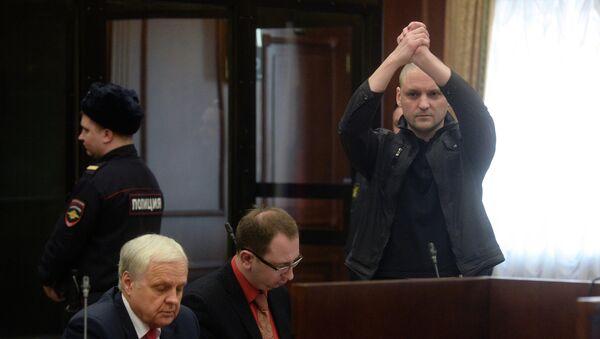 Слушания по уголовному делу в отношении Сергея Удальцова и Леонида Развозжаева. Архивное фото