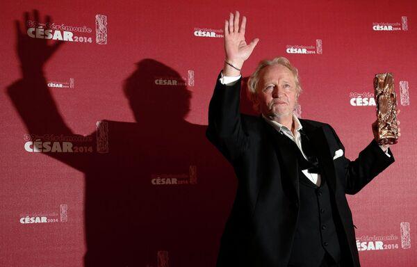 Актер Нильс Ареструп на 39-й церемонии вручения наград премии Сезар