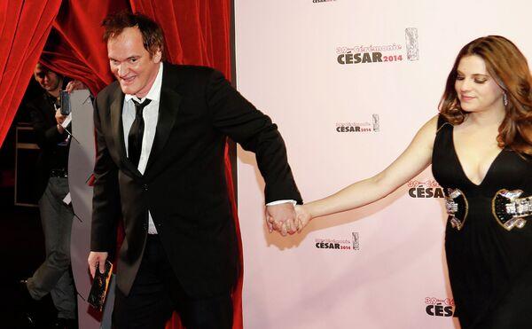 Американский кинорежиссёр Квентин Тарантино на 39-й церемонии вручения наград премии Сезар