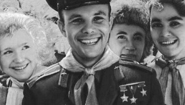 Юрий Гагарин, архивное фото