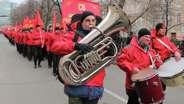 Акция Марш братства и гражданского сопротивления в Москве