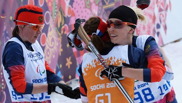 Паралимпиада 2014. Лыжные гонки. Женщины. 5 км