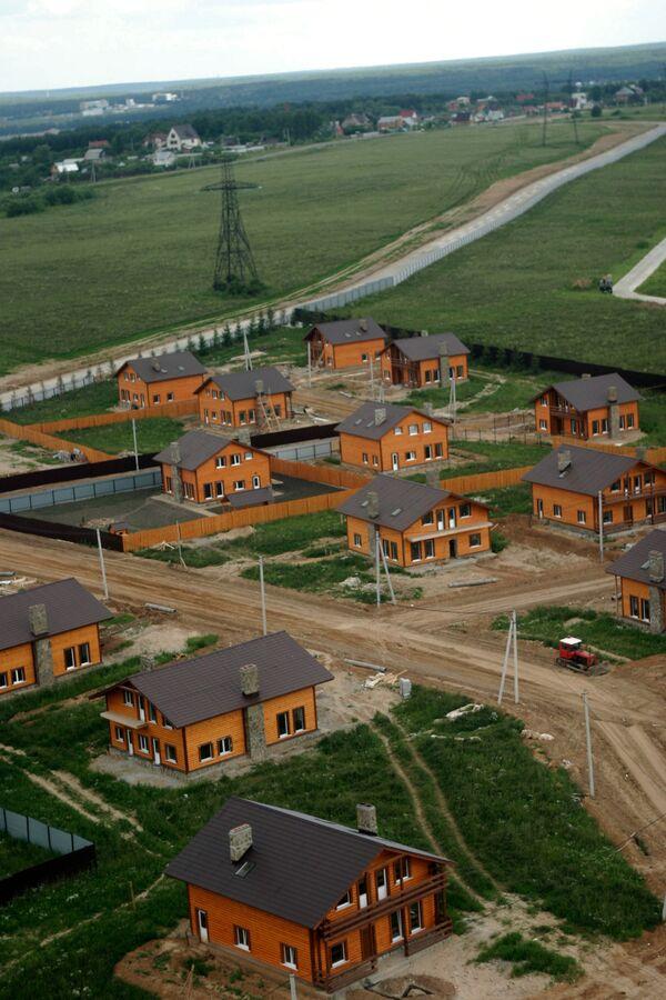 Коттеджный поселок, дома, коттеджи, Новорижское шоссе