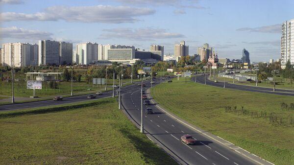 Москва, проспект Вернадского