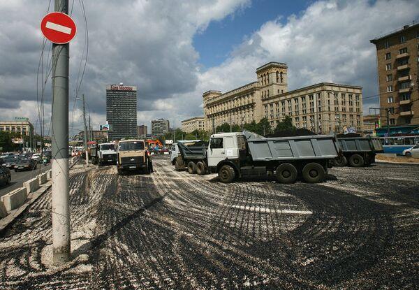 Реконструкция Ленинградского проспекта