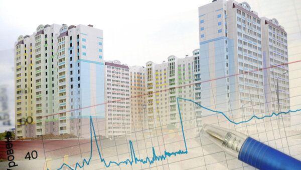 Новостройка, график, снижение, увеличение, жилье, квартал, цены, объем, дома, многоэтажка