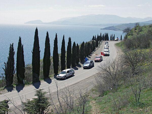 Дорога вдоль Черноморского побережья