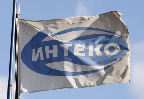 Флаг ЗАО Интеко