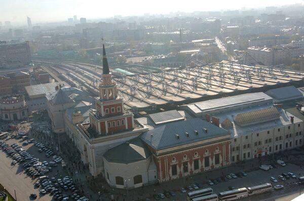 Здание Казанского вокзала