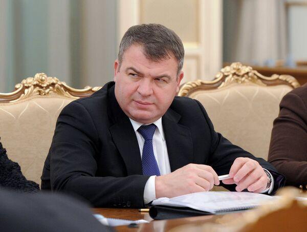 Анатолий Сердюков на заседании президиума правительства РФ