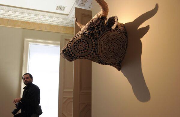 Открытие выставки, посвященной 15-ти летию Christie's в России