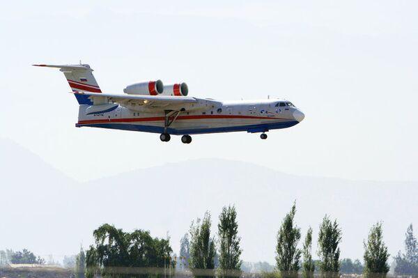 Российский самолет–амфибия Бе-200