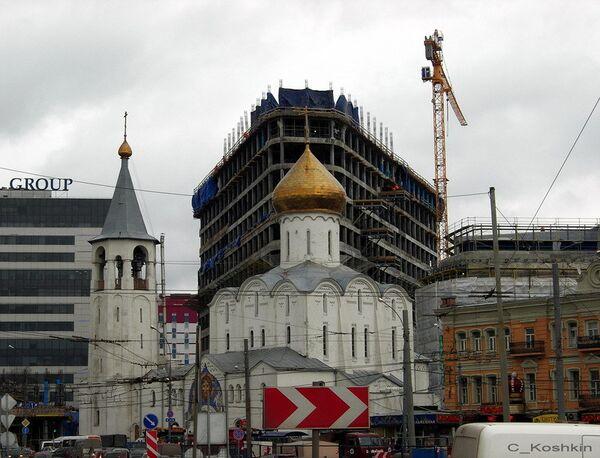 Строительство группы зданий делового назначения в районе Тверской заставы
