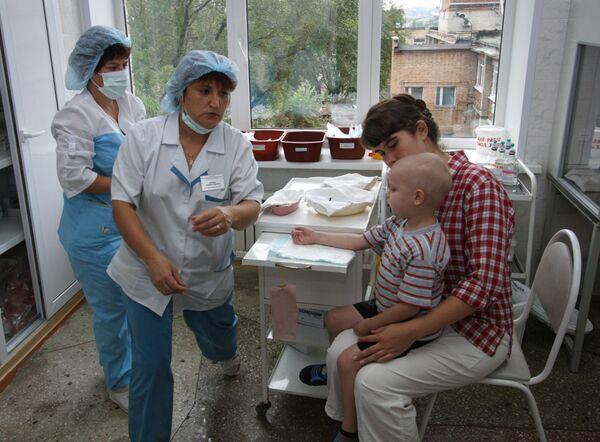 Работа детского онкогематологического центра во Владивостоке