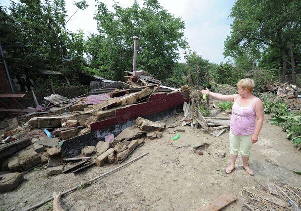 Последствия наводнения в Краснодарском крае