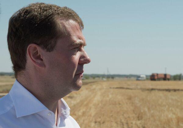 Рабочая поездка Д.Медведева в Волгоградскую область