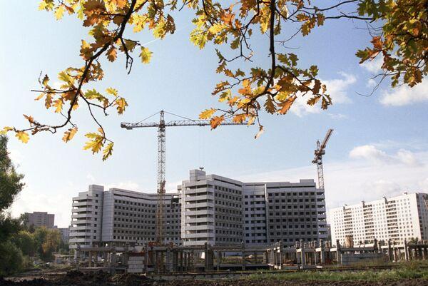 Строительство детской больницы в районе Ховрино